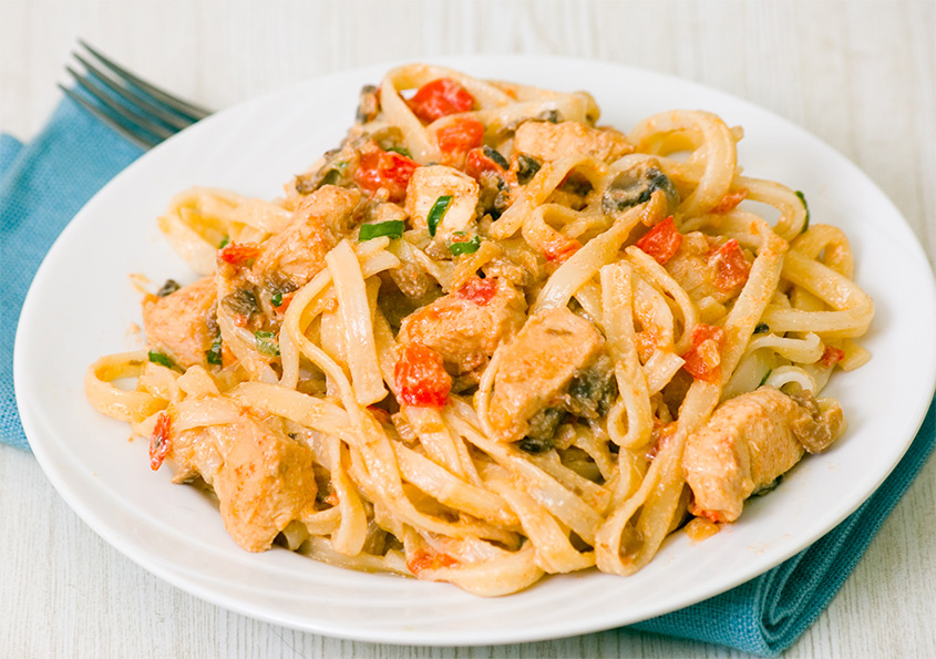 recipe_garlic_sriracha_chicken_pasta