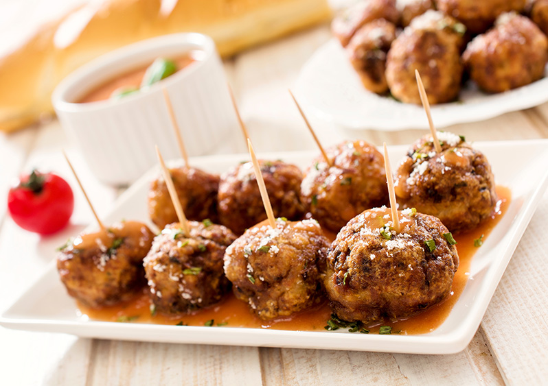 how to make meatballs and sauce